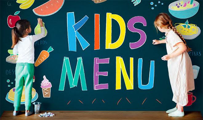 Детский зал в ресторане